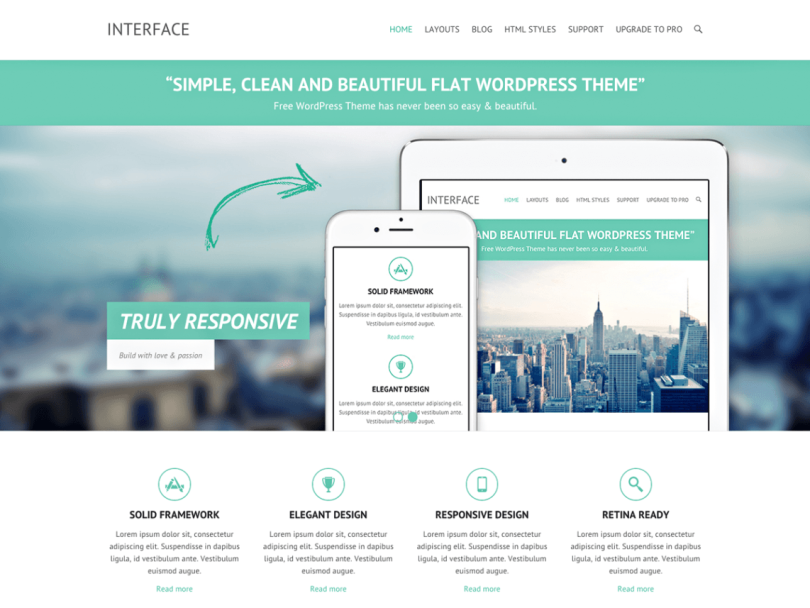 wordpress-interface-tema